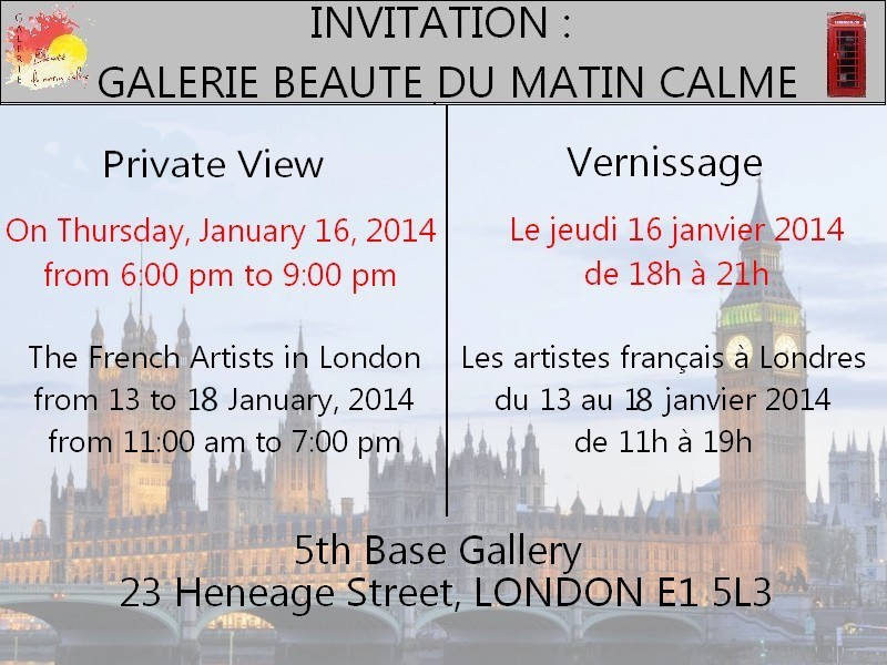 Confais - Art Exhibition in London